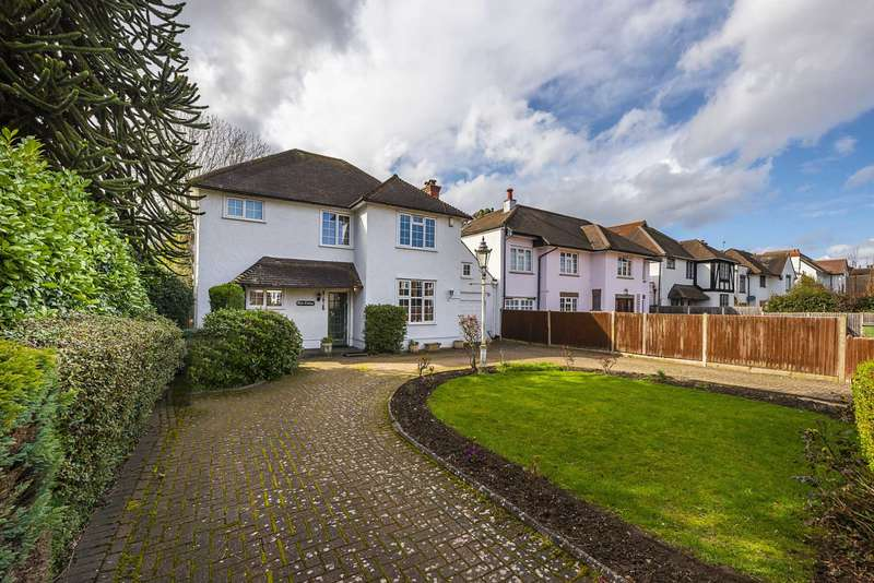 4 Bedrooms Detached House for sale in Speer Road, Thames Ditton