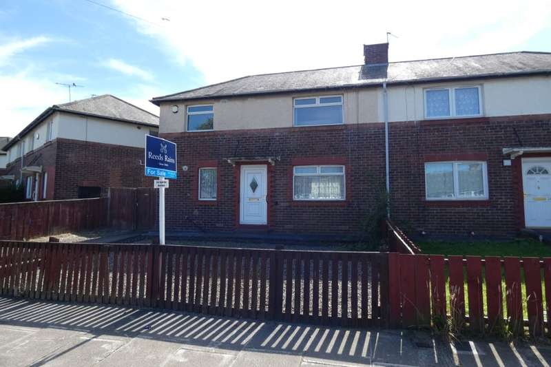 2 Bedrooms Semi Detached House for sale in Hollywood Crescent, Gosforth, Newcastle Upon Tyne, NE3