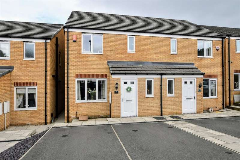 3 Bedrooms Semi Detached House for sale in Bluebell Bank, Barnsley, S70 4NJ
