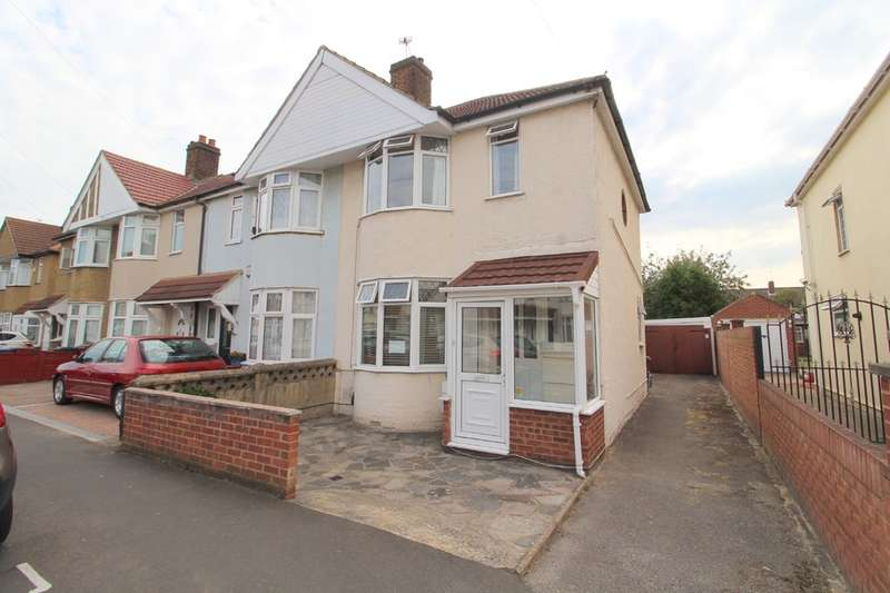 3 Bedrooms End Of Terrace House for sale in Sunningdale Avenue, Feltham