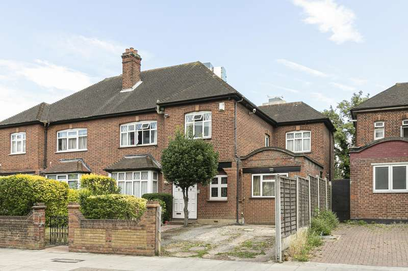 5 Bedrooms Semi Detached House for sale in Woodberry Grove, London, N4