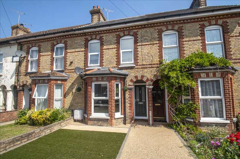 3 Bedrooms Terraced House for sale in Mead Road, South Willesborough, Ashford, Kent, TN24 0BS