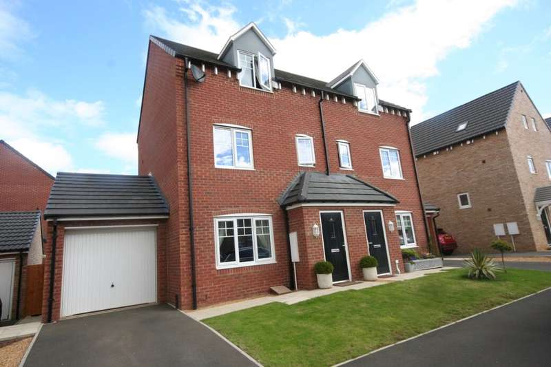 3 Bedrooms Semi Detached House for sale in Holt Close, Middlesbrough, TS5