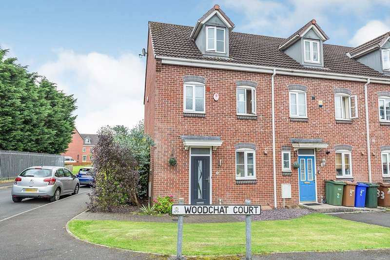 3 Bedrooms Semi Detached House for sale in Woodchat Court, Chorley, Lancashire, PR7