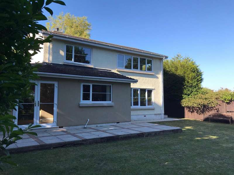 4 Bedrooms Detached House for sale in Lon Tudur, Llangefni, Ynys Mon, LL77