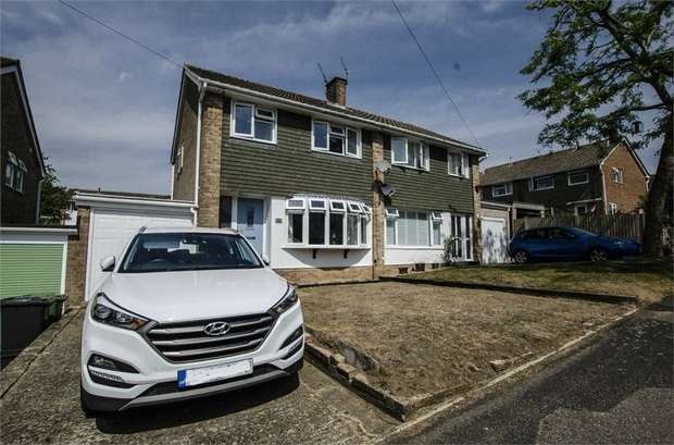 3 Bedrooms Semi Detached House for sale in Latham Road, Fair Oak, EASTLEIGH, Hampshire