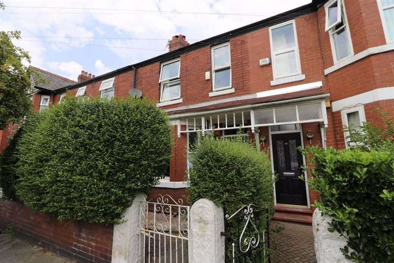 3 Bedrooms Terraced House for sale in Nicolas Road, Chorlton, Manchester, M21