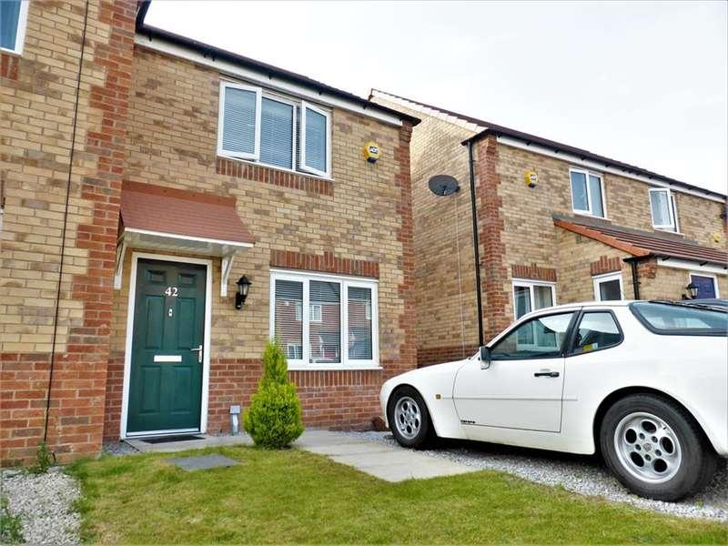 2 Bedrooms Semi Detached House for sale in West Moor Croft, Goldthorpe, Rotherham, S63 9FL
