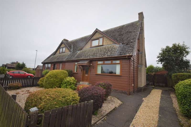 3 Bedrooms Semi Detached House for sale in Bon Accord Crescent, Shotts, ML7