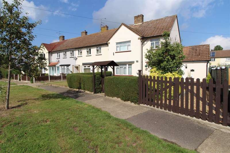 3 Bedrooms End Of Terrace House for sale in Willett Road, Shrub End, Colchester, CO2