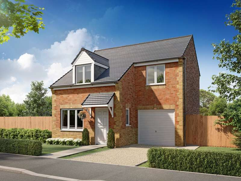 3 Bedrooms Detached House for sale in Plot 65, Liffey, Greymoor Meadows, Kingstown Road, Carlisle , CA3