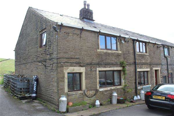 3 Bedrooms Semi Detached House for sale in Lower Doghill Farm, Grains Road, Oldham