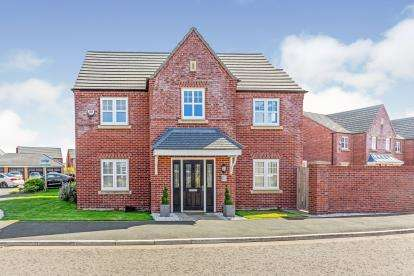 4 Bedrooms Detached House for sale in Buckley Grove, Lytham St Anne's, Lancashire, England, FY8