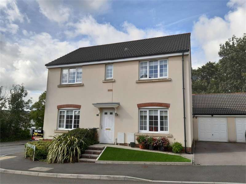 4 Bedrooms Detached House for sale in Tirfilkins Close, Pontllanfraith, Blackwood, Caerphilly