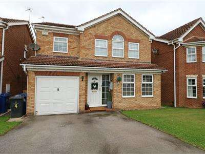 4 Bedrooms Detached House for sale in Elwin Court, Woodfield Plantation, Balby, Doncaster