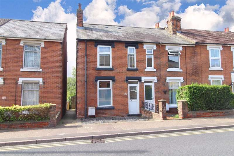 3 Bedrooms End Of Terrace House for sale in Bergholt Road, Colchester, CO4