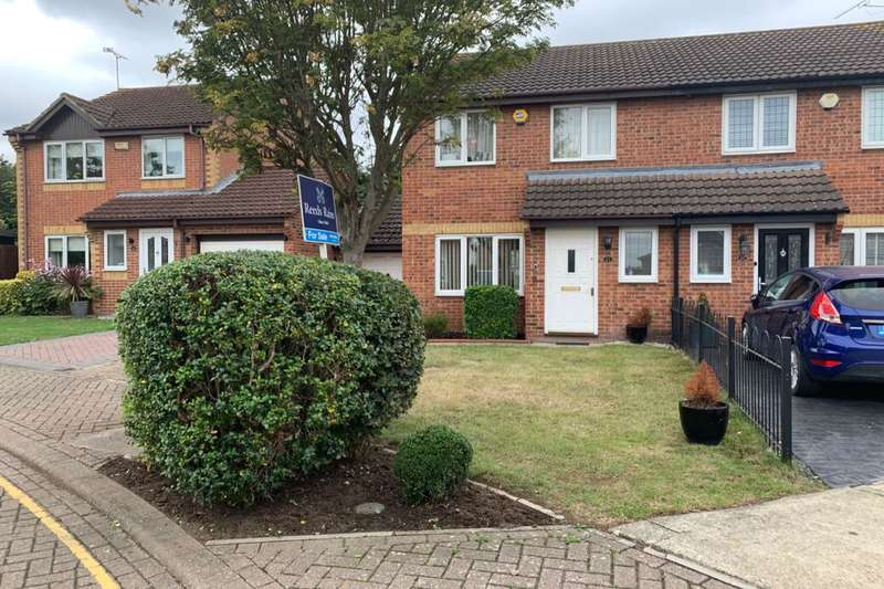 3 Bedrooms Semi Detached House for sale in Sutherland Close, Greenhithe, DA9