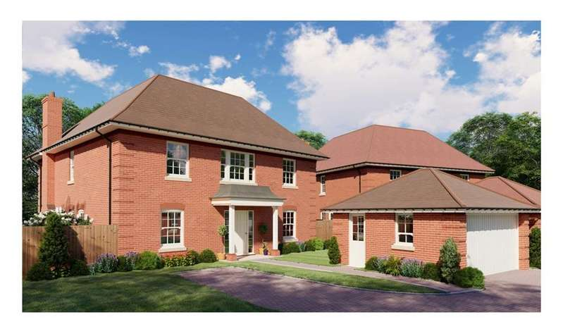 4 Bedrooms Detached House for sale in Chine Walk, West Parley, Ferndown