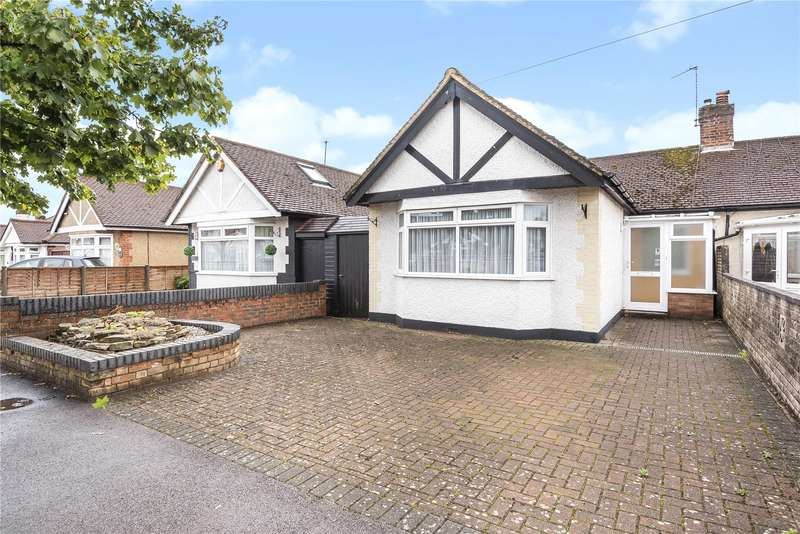 3 Bedrooms Semi Detached Bungalow for sale in Sherborne Way, Croxley Green, Rickmansworth, Hertfordshire, WD3