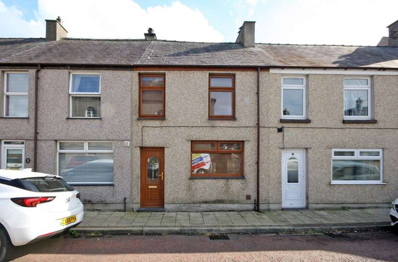 3 Bedrooms Terraced House for sale in Chapel Street, Penygroes, Caernarfon, Gwynedd, LL54