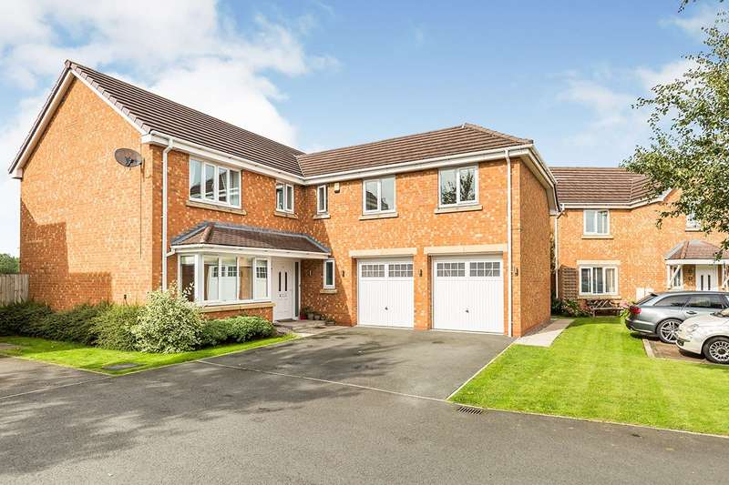 5 Bedrooms Detached House for sale in Leveret Court, Farington Moss, Leyland, PR26