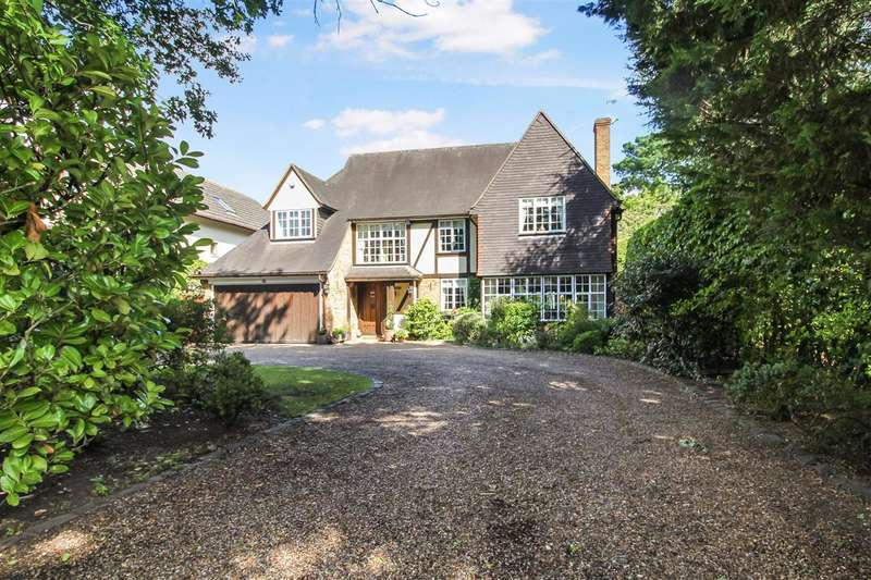 5 Bedrooms Detached House for sale in Ridgeway, Hutton Mount