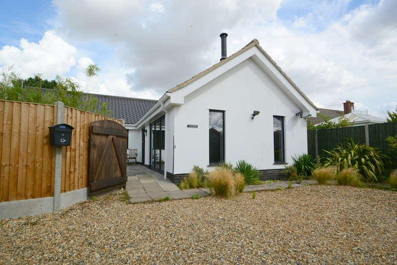 2 Bedrooms Detached Bungalow for sale in Skinners Lane, Metfield