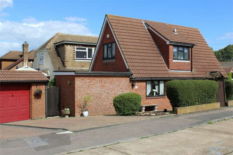 3 Bedrooms Detached House for sale in Norman Close, WIGMORE, Kent