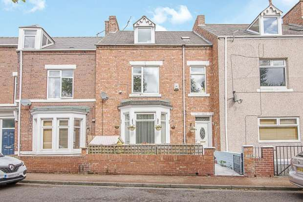 5 Bedrooms Terraced House for sale in Loraine Terrace, Newcastle Upon Tyne, Tyne And Wear, NE15 8EA