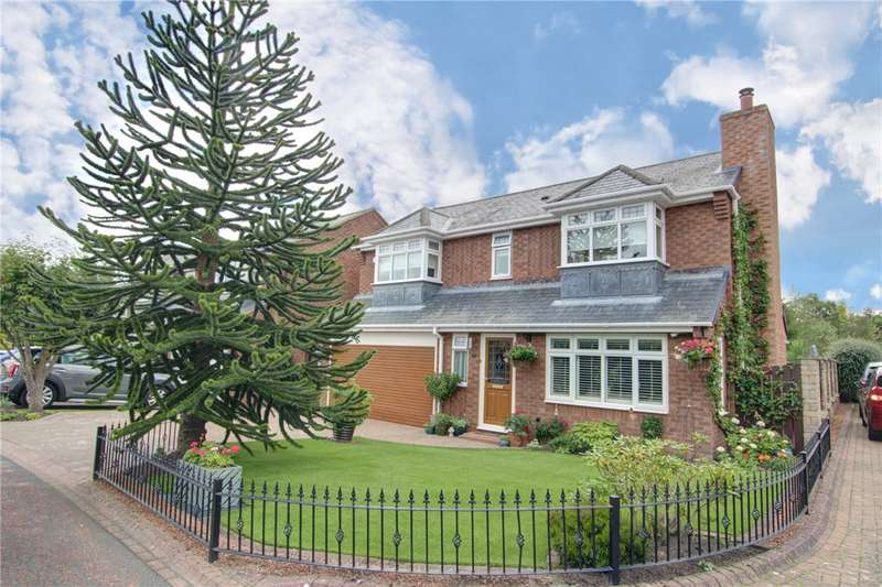 4 Bedrooms Detached House for sale in Handley Cross, Medomsley, Consett, DH8