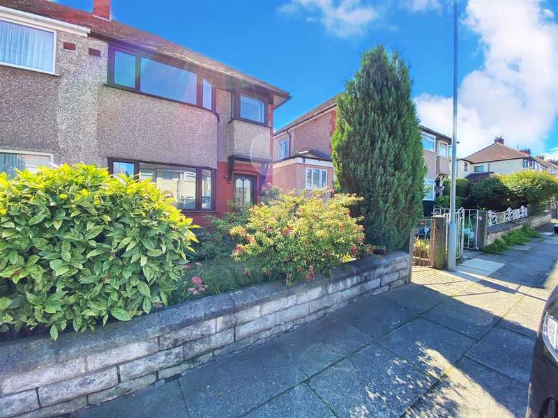 3 Bedrooms Semi Detached House for sale in Coronation Drive, Knotty Ash, Swanside, Liverpool