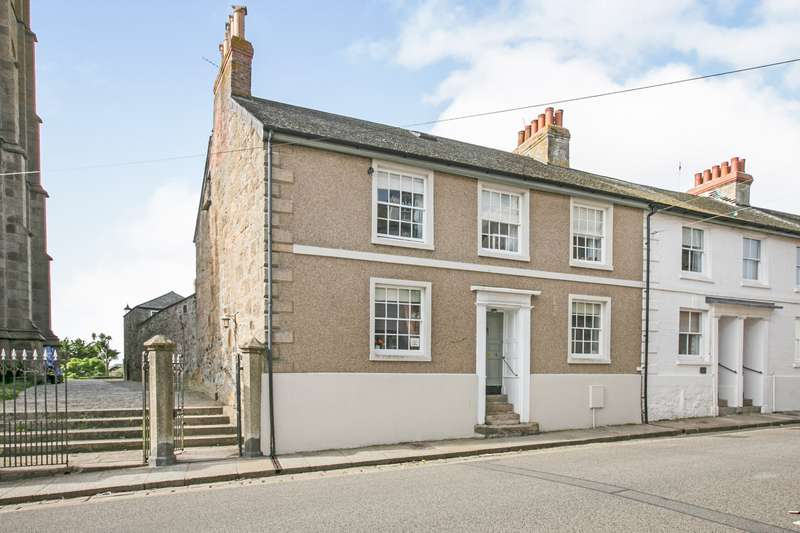 5 Bedrooms End Of Terrace House for sale in Chapel Street, Penzance, Cornwall, TR18