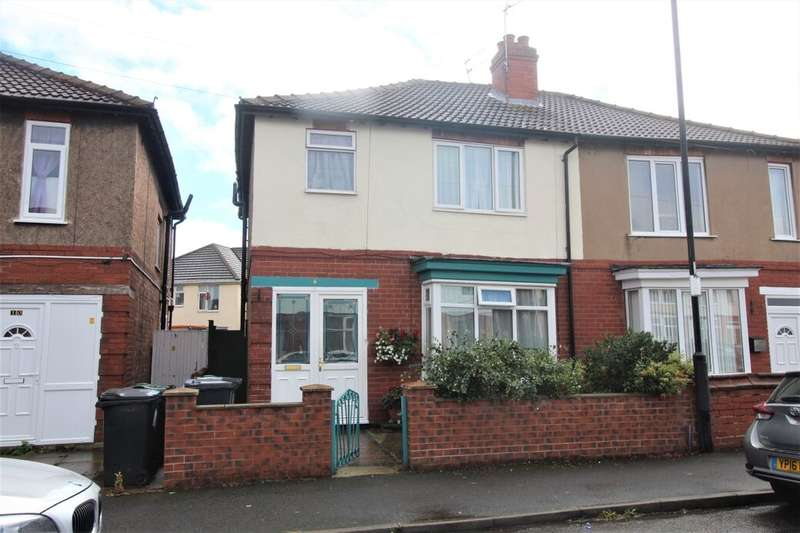 3 Bedrooms Semi Detached House for sale in St. Hildas Road, Doncaster, DN4