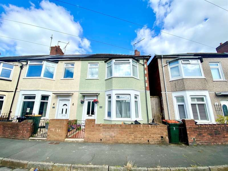 3 Bedrooms End Of Terrace House for sale in Walmer Road, Newport