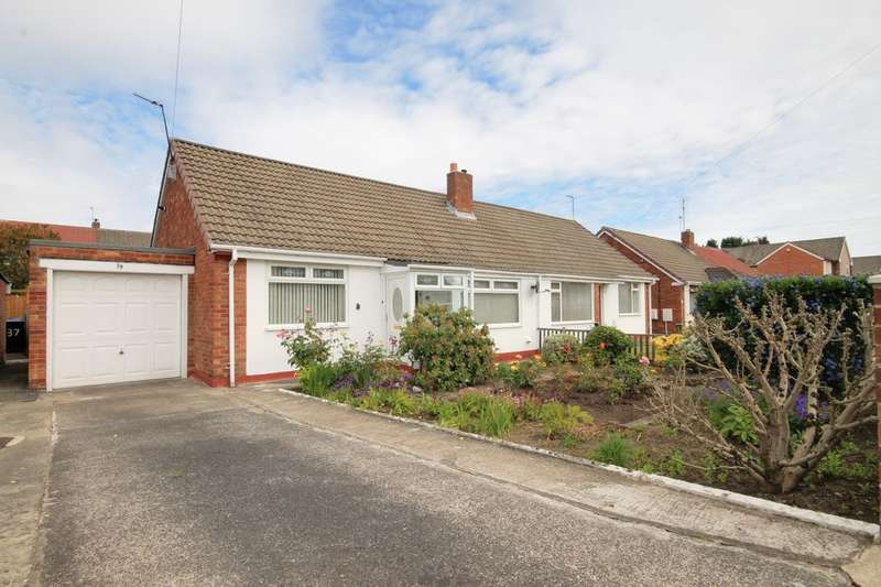 2 Bedrooms Semi Detached Bungalow for rent in Leander Avenue, Chester Le Street, DH3