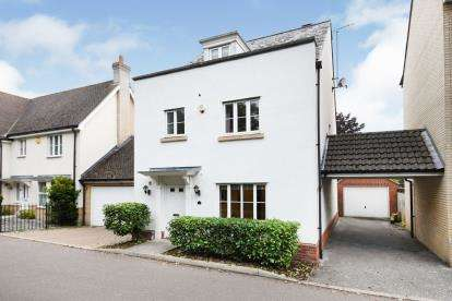 4 Bedrooms Detached House for sale in City Centre, Chelmsford, Essex