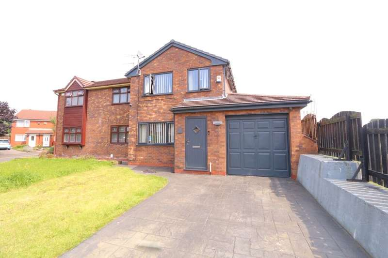 3 Bedrooms Semi Detached House for sale in Melbourne Street, Denton, Manchester, M34