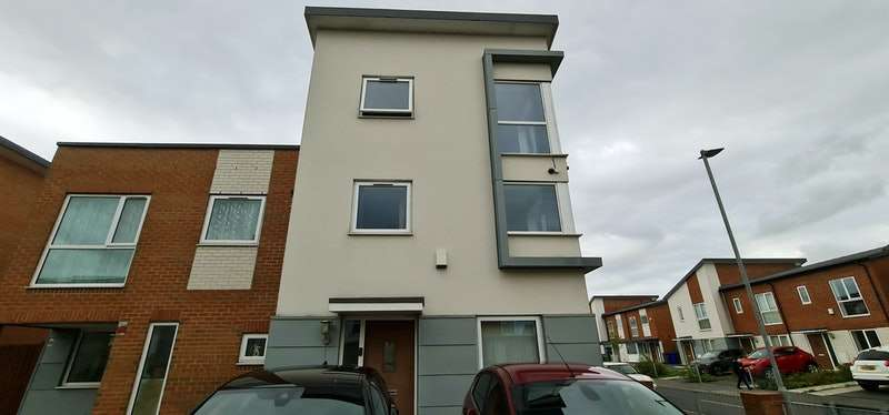 4 Bedrooms Semi Detached House for sale in Bell Crescent, Manchester, Greater Manchester, M11