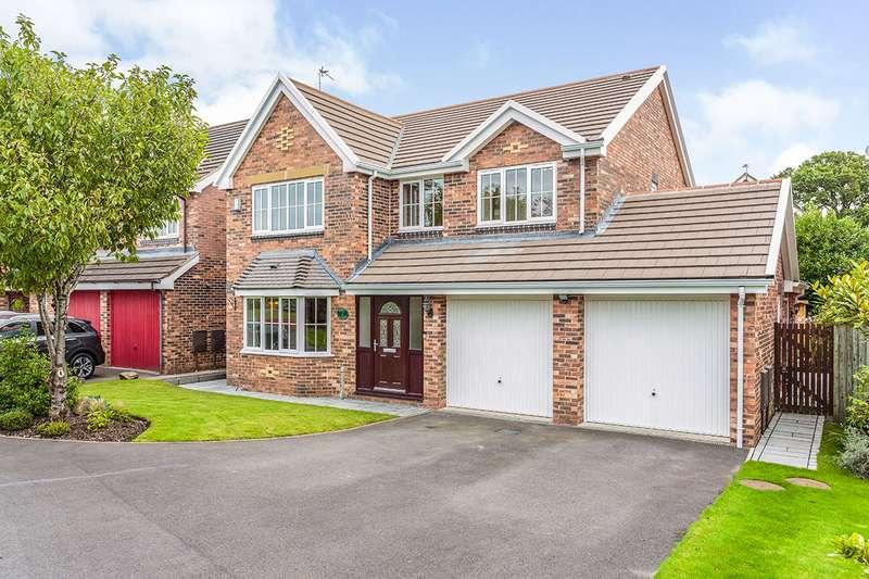 4 Bedrooms Detached House for sale in Cherry Gardens, Claughton-on-Brock, Preston, PR3