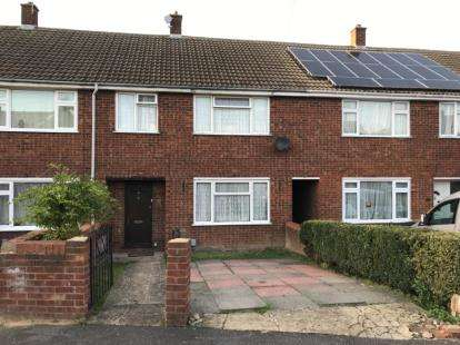 3 Bedrooms Terraced House for sale in Oatfield Close, Luton, Bedfordshire