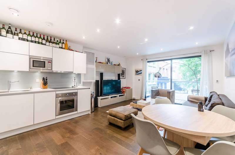 2 Bedrooms Flat for sale in Paton Street, Clerkenwell, EC1V