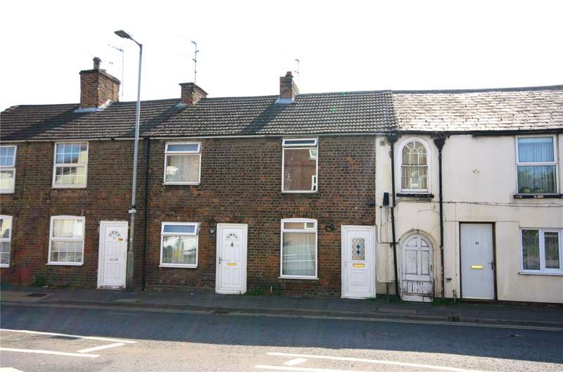 2 Bedrooms Terraced House for sale in Winsover Road, Spalding, Lincolnshire, PE11
