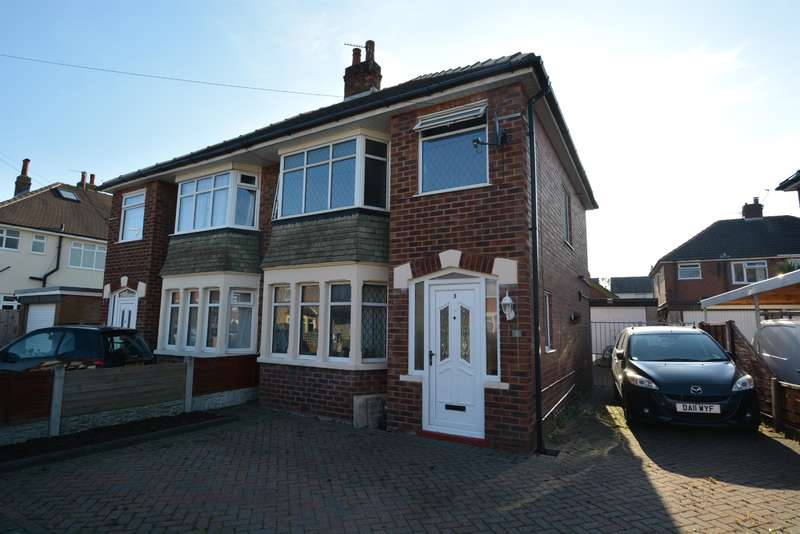 3 Bedrooms Semi Detached House for sale in Wharfedale, Blackpool, FY4 5AN