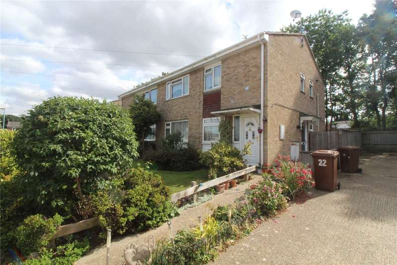 2 Bedrooms Maisonette Flat for sale in Mincers Close, Chatham, Kent, ME5