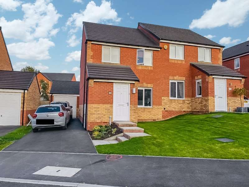3 Bedrooms Semi Detached House for sale in Ellwood, Barnsley, South Yorkshire, S71