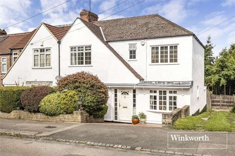 4 Bedrooms End Of Terrace House for sale in County Gate, New Barnet, EN5