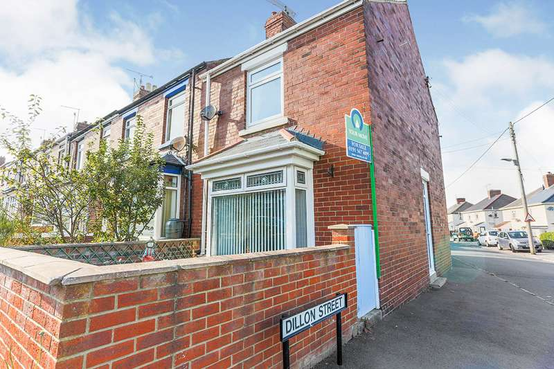 2 Bedrooms End Of Terrace House for sale in Dillon Street, Seaham, Durham, SR7