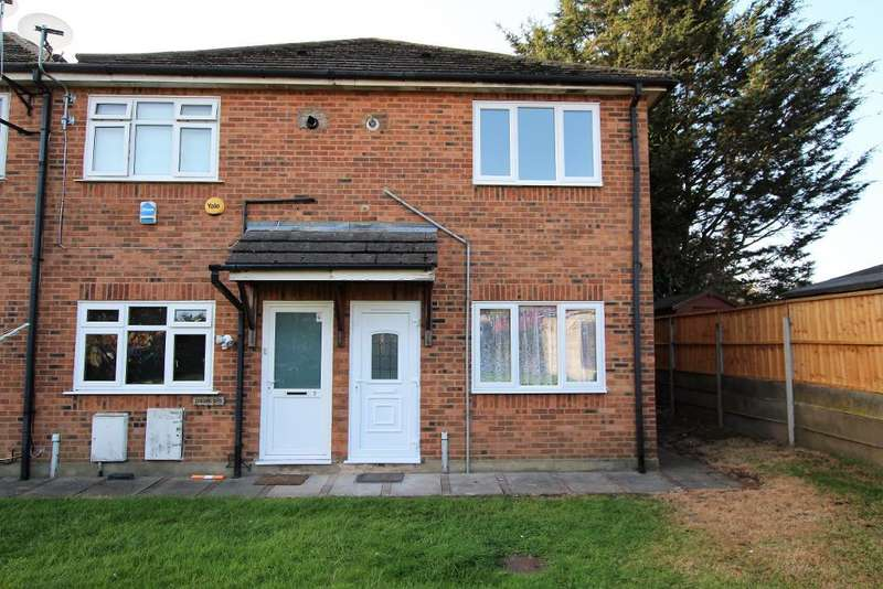 1 Bedroom End Of Terrace House for sale in Loxley Court, Harold Hill, Romford, Essex, RM3 7EW