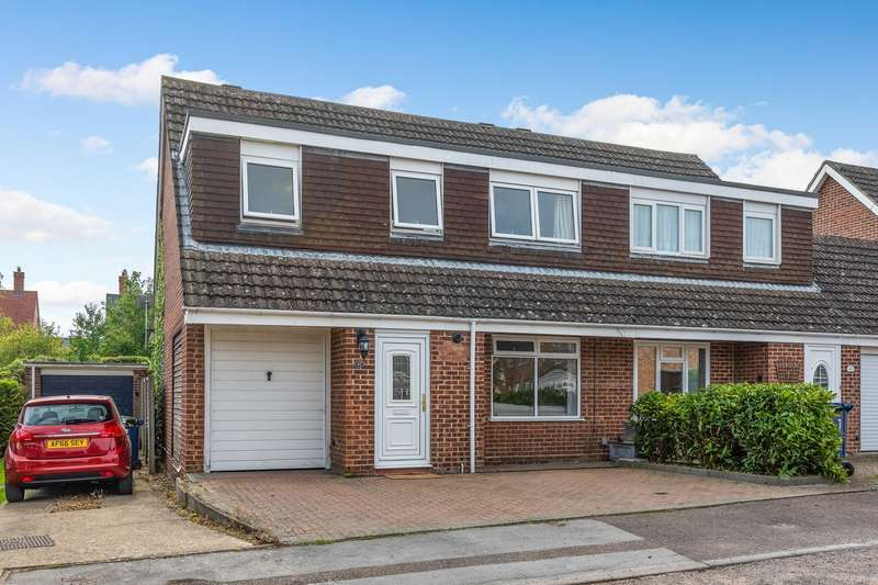 4 Bedrooms Semi Detached House for sale in Greengage Rise, Melbourn, SG8