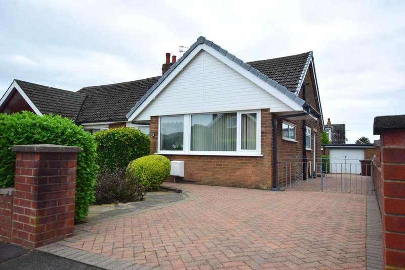 2 Bedrooms Semi Detached Bungalow for sale in Tebay Avenue, Kirkham, PR4 2ZD